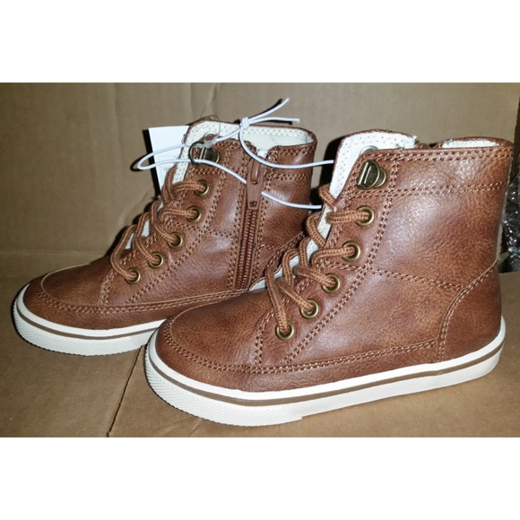 6e2e5a0c235758 Cherokee Haywood High Top Brown Sneakers